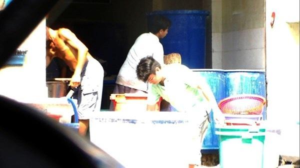 Một số ảnh về qui trình chế biến mứt tại cơ sở Phước Thành.