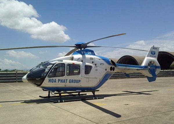 Chiếc máy bay của đại gia Hòa Phát
