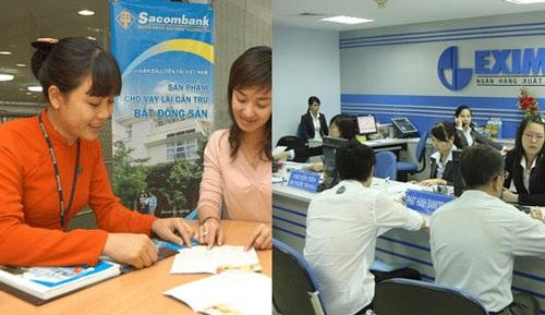 Dính vào Sacombank, NamABank: Eximbank tuột dốc