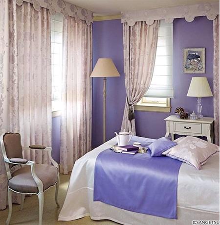 Rèm vải Minh Đăng giúp phòng ngủ nhà bạn sang trọng hơn