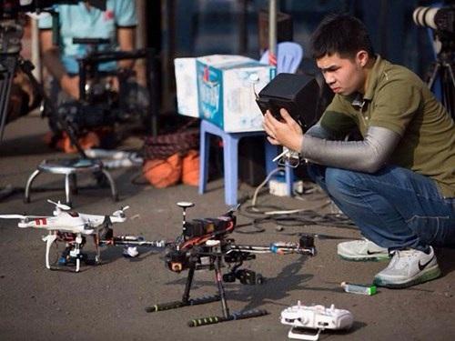 Nhu cầu sử dụng flycam để quay phim, chụp ảnh của người dân ngày càng cao