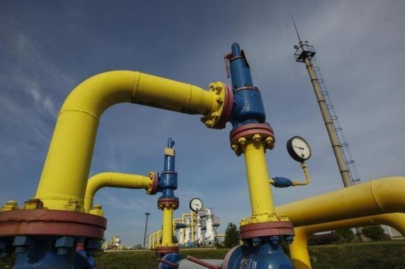 Đường ống dẫn khí tại Lviv, Ukraine. Ảnh: Reuters