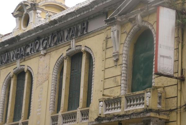 Dấu tích sót lại của một trung tâm ca nhạc giải trí lớn ở Hà Nội từng mở tại đây