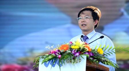 Ông Hồ Quốc Dũng - Phó Bí thư Tỉnh Ủy, Chủ tịch UBND tỉnh Bình Định
