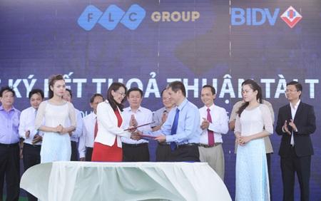 FLC – BIDV ký thỏa thuận hợp tác tại Lễ Khởi công