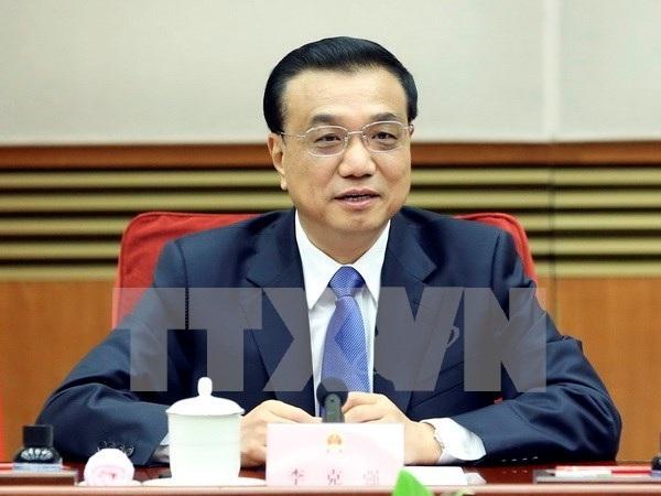 Thủ tướng Trung Quốc Lý Khắc Cường. (Ảnh: THX/TTXVN)