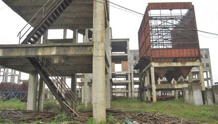 Tài sản gần 1.000 tỷ đồng của dự án giờ chỉ là đống sắt gỉ sét