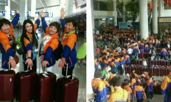 Đoàn khách của Infinitus đến Thái Lan