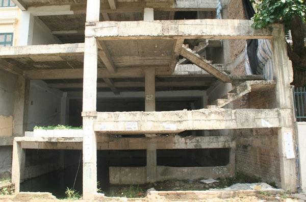 Công trình gây lãng phí và ảnh hưởng tới mỹ quan đô thị