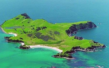 Hòn đảo Slipper Island ở New Zealand được một tỉ phú Trung Quốc mua tặng con gái.