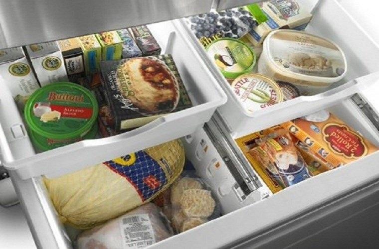 Thịt cá được chia thành các túi nhỏ cất trong ngăn đá tủ lạnh ăn dần (ảnh minh họa)