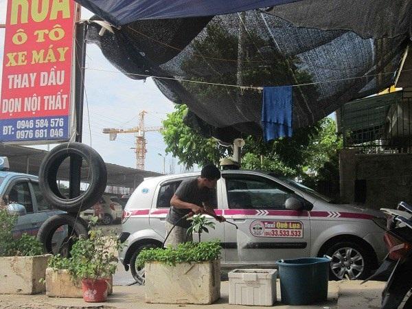 Khách hàng chủ yếu là xe taxi