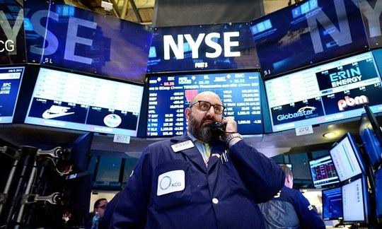 NYSE hoạt động trở lại sau hơn 3 giờ gặp sự cố. Ảnh: EPA