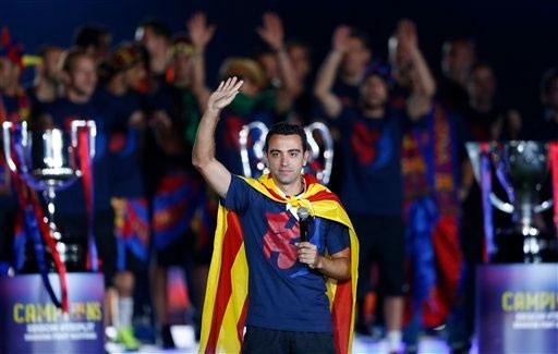 Xavi muốn quay lại Barca với cương vị là thành viên của ban huấn luyện