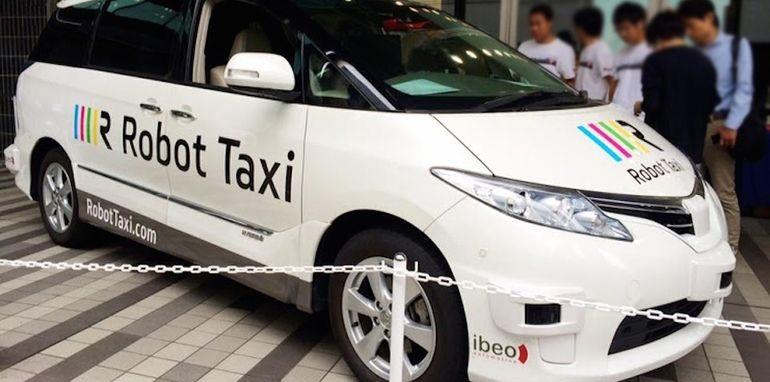 """Nhật Bản """"trình làng"""" dịch vụ taxi tự lái - 1"""