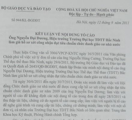 Lập khống đề tài để rút tiền chia nhau tại Đại học TDTT Bắc Ninh - 1