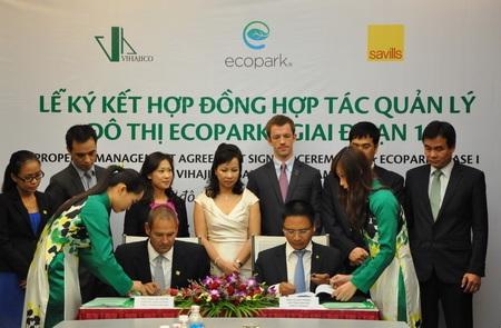 Savills Vietnam quản lý dịch vụ khu đô thị Ecopark