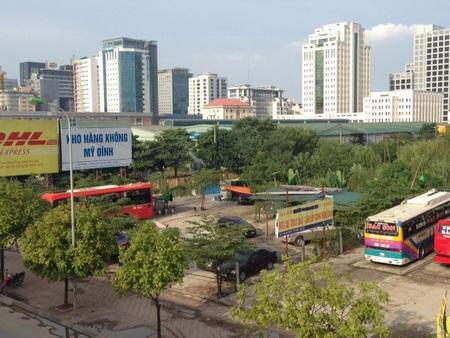 Vụ Công viên Cầu Giấy bị băm nát: Thả cửa chiếm đất vàng kinh doanh