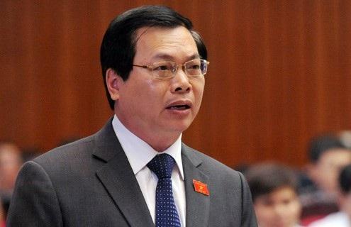 Nguyên Bộ trưởng Công Thương Vũ Huy Hoàng.