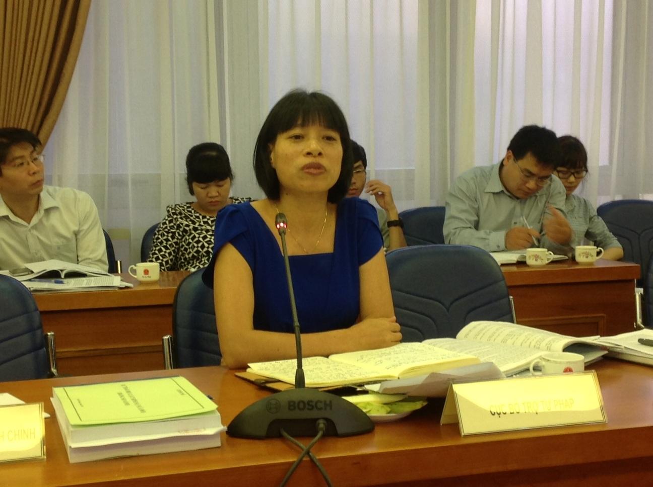 Bà Nguyễn Thị Mai.