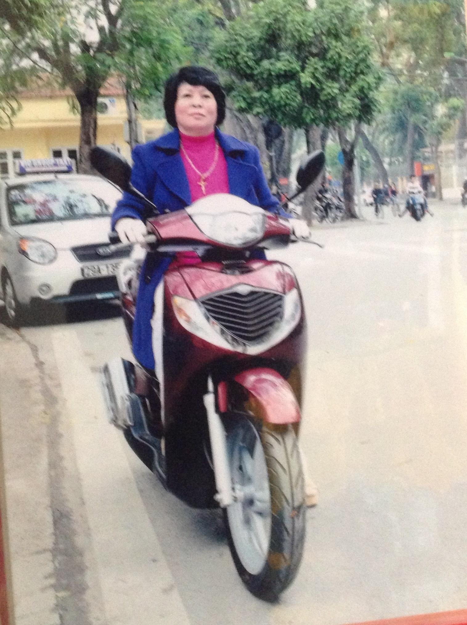 Bà Nguyễn Hồng Lương (ảnh chụp lại)