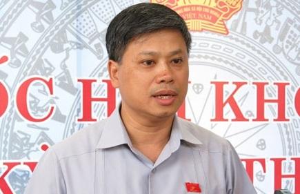 Đại biểu Quốc hội Nguyễn Sỹ Cương.