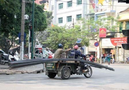 Bộ Công an yêu cầu tổng rà soát xe 3 bánh giả danh thương binh