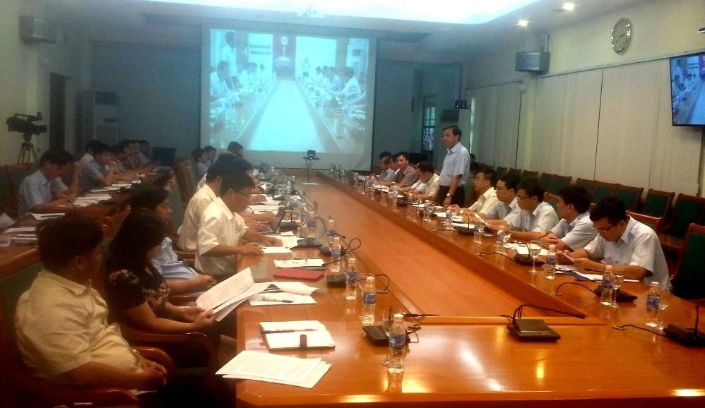 Thanh tra Chính phủ công bố công khai kết luận tại UBND tỉnh Quảng Ninh (Ảnh: TTCP).
