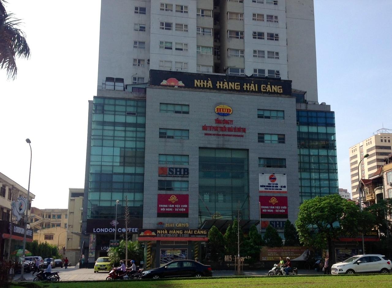 Trụ sở Tổng công ty Đầu tư phát triển nhà và đô thị (HUD).