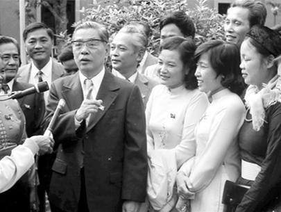 Tổng Bí thư Nguyễn Văn Linh.