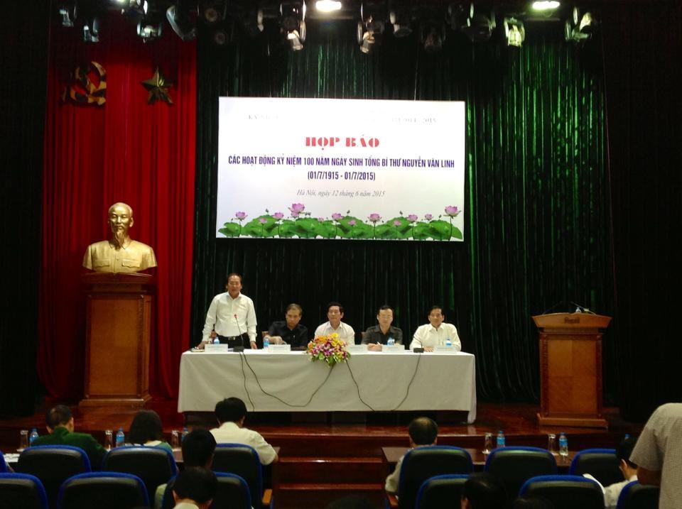 Nhiều hoạtđộng sẽ diễn ra trong dịp kỷ niệm 100 năm ngày sinh cố Tổng Bí thư Nguyễn Văn Linh.