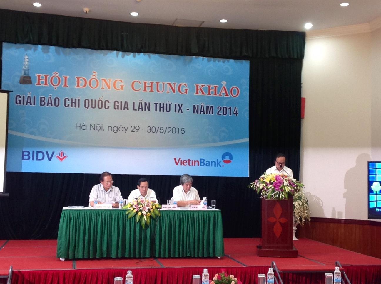 Ông Trần Gia Thái cho biết đã có 1.468 tác phẩm báo chí gửi dự giải.