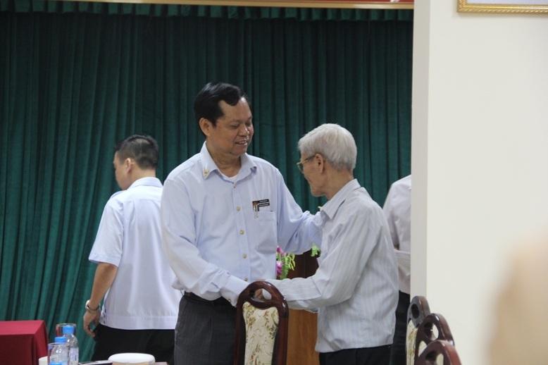 Tổng Thanh tra Chính phủ Huỳnh Phong Tranh trong một lần tiếp dân ở Hà Nội (Ảnh: TTCP).
