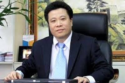 Cựu Chủ tịch HĐQT Oceanbank Hà Văn Thắm khi còn đương nhiệm.