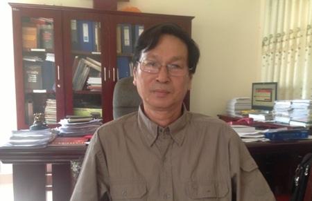 Ông Trương Đình Anh, Phó giám đốc Sở Văn hóa, Thể thao và Du lịch tỉnh Quảng Trị