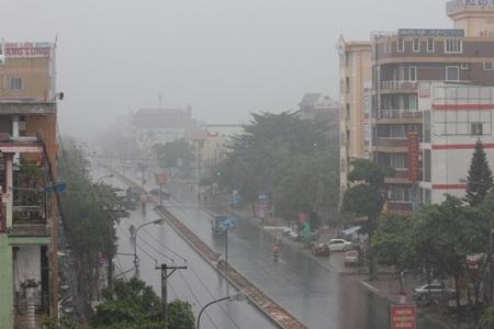 Những ngày qua, do ảnh hưởng của bão số 8 khiến Quảng Trị có mưa rất to
