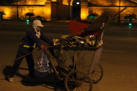 Tập kết rác thải