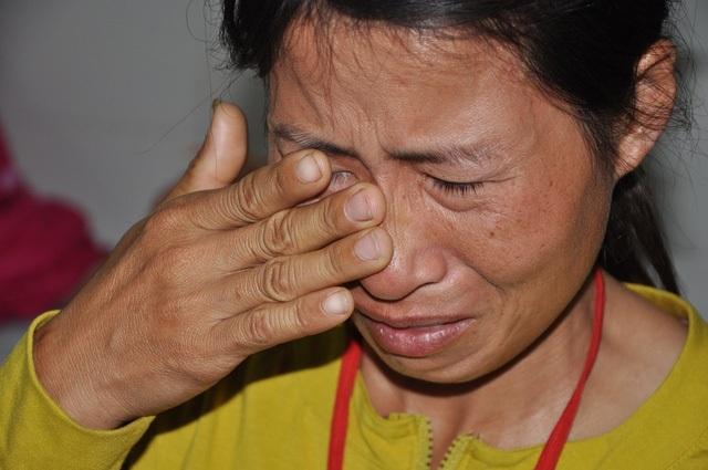 Anh ra đi để lại nỗi đau đớn khôn nguôi cho mẹ con chị Hương.