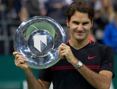 Ferderer lên ngôi vô địch tại ATP Rotterdam - 1