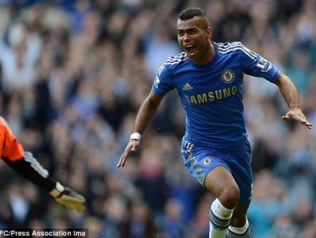 Bàn thắng của Cole khiến khán đài Stamford Bridge vỡ òa trong niềm hạnh phúc