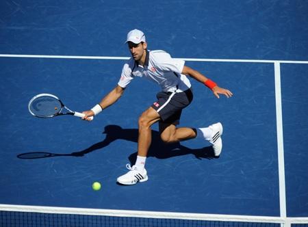 Djokovic đã có một trận đấu khá ổn định