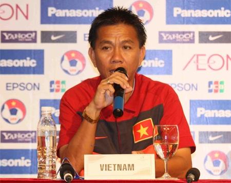 HLV phó Hoàng Anh Tuấn khẳng định Việt Nam muốn giành ngôi vô địch, ảnh: Sơn Dũng