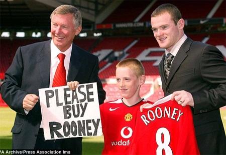 ...và cậu đã được như ý. Rooney chính thức rời Everton để gia nhập MU
