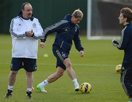 Nhiệm vụ của Benitez là phải làm sao đưa Torres tìm lại phong độ