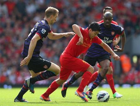 Arsenal và Liverpool đang cạnh tranh nhau hướng đến vị trí thứ 4