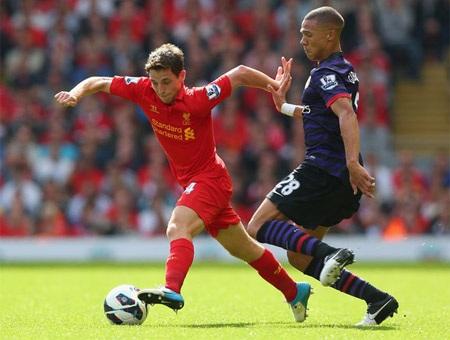 Liverpool đang tự tin sẽgây khó cho Arsenal