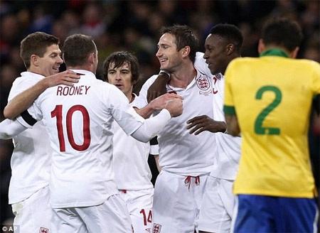 Chiến thắng tuyệt vời cho tuyển Anh