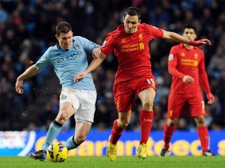 Liverpool và Man City tiếp tục hòa 2-2 giống như ở trận lượt đi