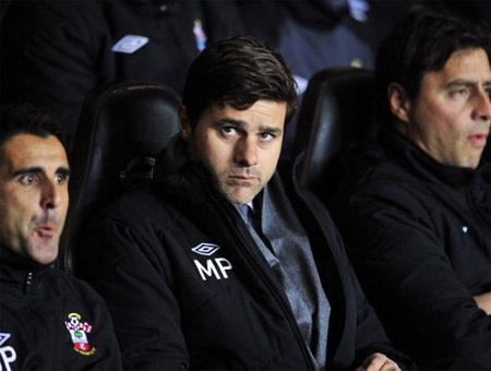 Pochettino có trận thứ 4 dẫn dắt Southampton và ông chưa có trận thắng đầu tay (2 hòa, 1 thua)