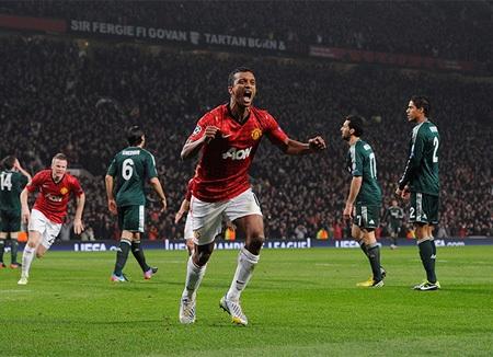 Nani khiến Ramos đá phản lưới nhà ở phút 48